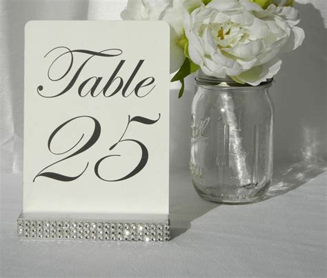 silver table number holders 25 best ideas about table number holders on