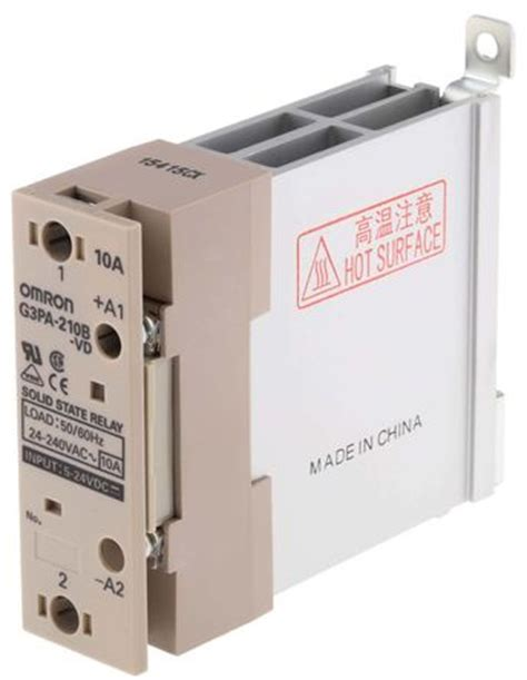 Solid State Relay G3pa 210b Vd buy 10 a mount zero crossing triac solid state relay 30 v