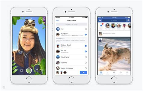 horizontal layout instagram facebook has added snapchat style stories to news feed
