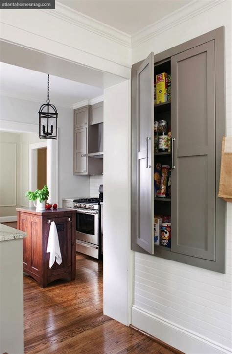 built in pantry transitional kitchen sherwin williams pavestone atlanta homes lifestyles