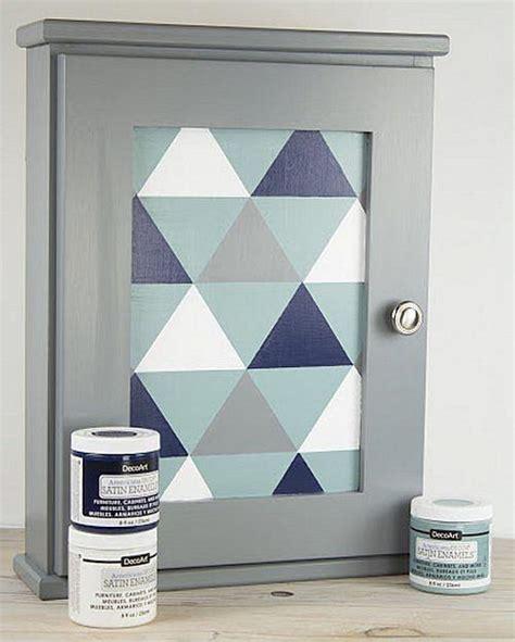 Triangle Medicine Cabinet by Modern Triangle Medicine Cabinet Project By Decoart