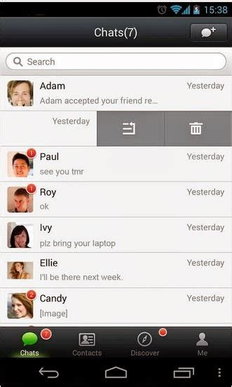 wechat android wechat android free app