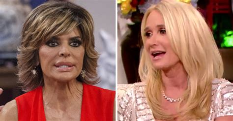 what did kim richards mean about lisa rinna husband you re a really sick woman lisa rinna and kim richards