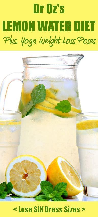 Dr Oz Hair Detox Recipe by Lemon Water Detox On Honey Cinnamon Water
