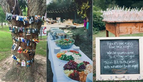 20  Rustic I do BBQ (Barbecue) Wedding Ideas   Roses & Rings
