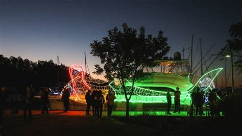 float your boat lake macquarie lake macquarie s float your boat delivers the lights