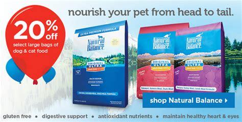 printable natural balance dog food coupons natural balance 20 off 5 printable coupon or 5 off