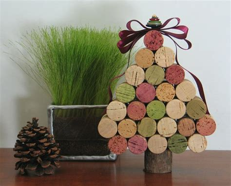 cork christmas tree diy cork tree and ornaments my desired home