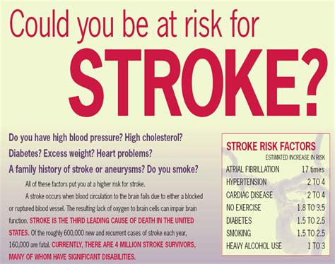 can a a stroke risk stroke foods to thin blood