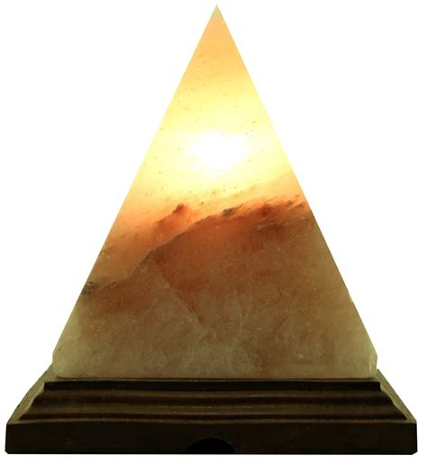 himalayan salt l pyramid large pyramid shape salt l himalayan salt with base and