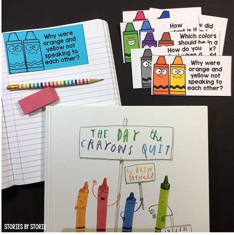 crayon picture book crayon themed picture books
