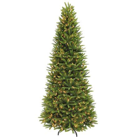 10 foot alim white christmaa tree puleo international 9 ft pre lit slim washington valley spruce artificial tree with