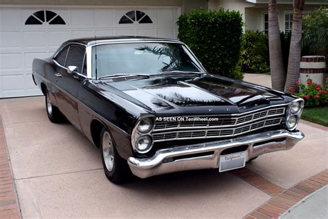 classic ford cars ford galaxie 1967 classic muscle car