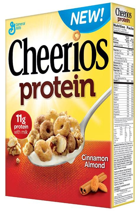protein cereal cheerios protein debuts a taste of general mills