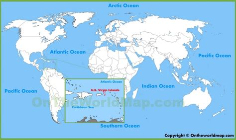 us islands world map u s islands location on the world map