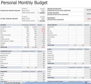 how to make a home budget plan 11 best images about monthly budget planners on pinterest