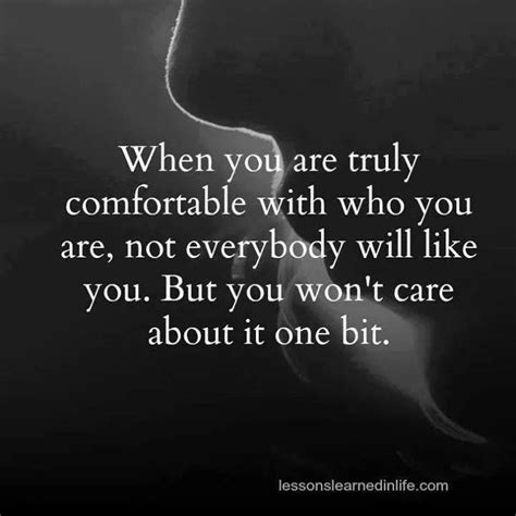 Comfortable With You by Be Comfortable With Who You Are With