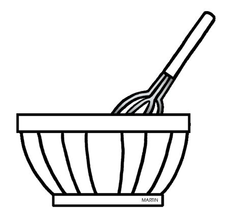 kitchen mixer coloring page mixing bowl free clipart