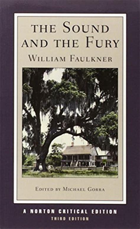 libro the sound and the fury di william faulkner