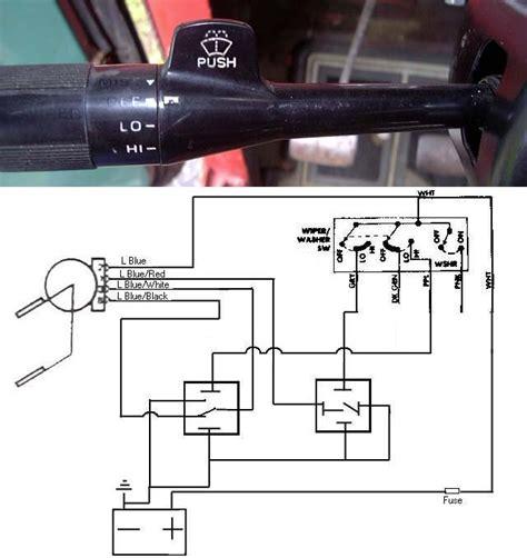 gm column mount wiper switch install ihmud forum