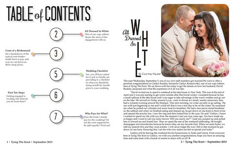 magazine table of contents template stron biz table of contents magazine template