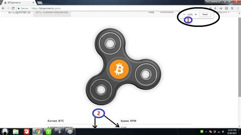 bitcoin spinner get high bitcoin spinner up to 1000 rotation per spin