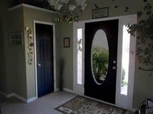 Interior Entrance Doors Black Painted Interior Doors Why Not Homesfeed