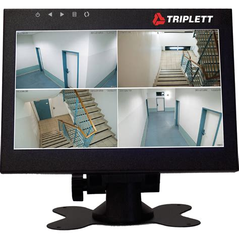 security monitor triplett hdcm2 7 quot hd led monitor for security cameras hdcm2