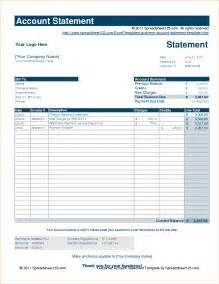 account form template statement of account template sle statement of account