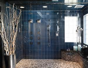 Create a distinctive and attractive look for a luxury walk in shower