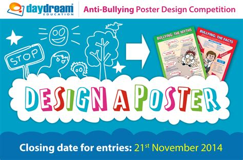 Poster Design Competition Uk | daydream s anti bullying poster design competition get