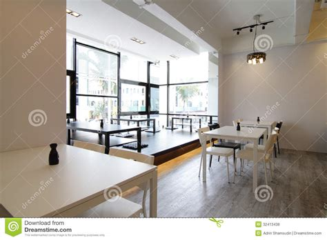 Small Kitchen Floor Plan modern cafe or restaurant royalty free stock photos