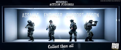 battlefield 4 figures get your own battlefield figures now battlefield 4