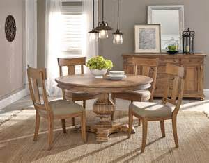 Round Formal Dining Room Sets by Von Furniture Wellington Hall Formal Dining Room Set
