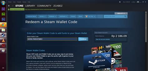 Steam Gift Card Redeem - cara mendapatkan steam wallet gratis 2016 ari art