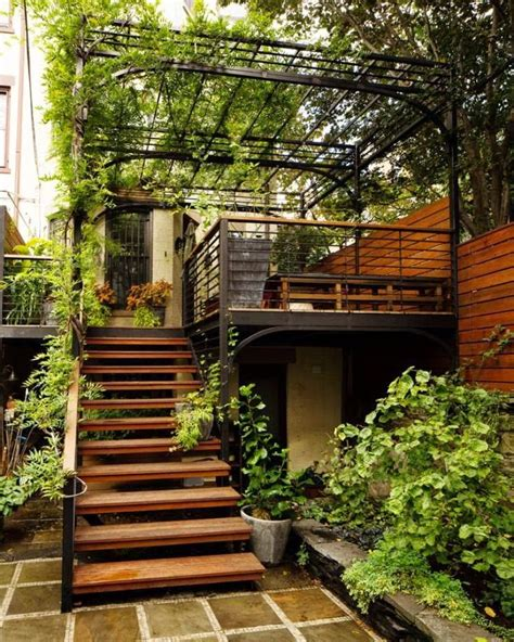 outdoor stairs decoration that will amaze you 25 best ideas about exterior stairs on pinterest steel