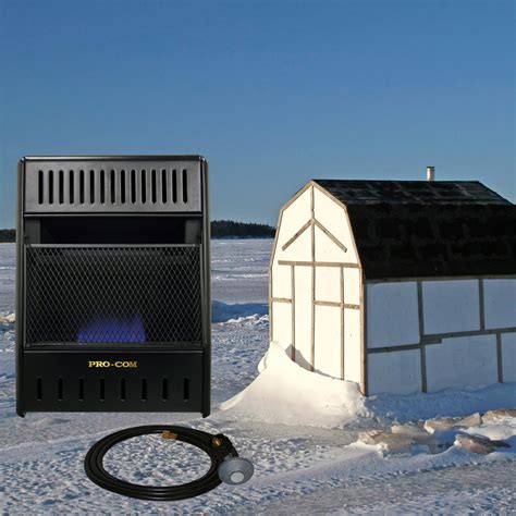 blue flame icehouse heater liquid propane  hose