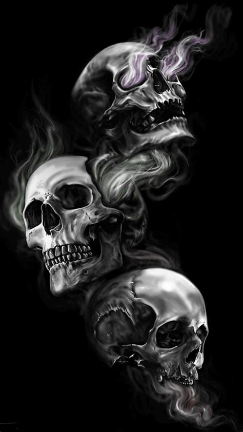 best 20 skull wallpaper iphone ideas on pinterest