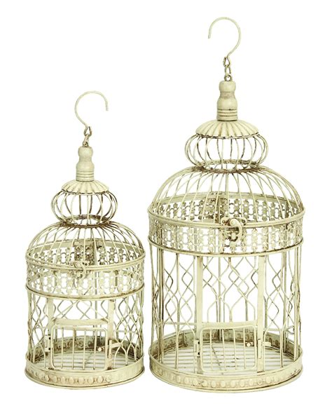 metal wall hanging bird cage 22 inch and 18 inch ebay