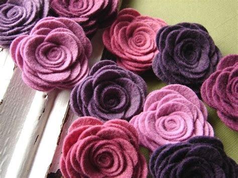 fiori di pannolenci come farli come fare fiori di stoffa bricolage fiori di stoffa