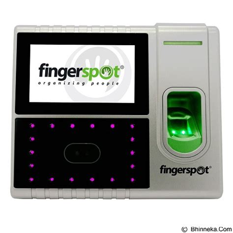 Mesin Absensi Sensor Wajah jual fingerspot mesin absensi wajah dan fingerprint hybrid