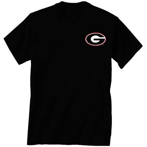 bulldogs fan apparel black quatrefoil t shirt uga t shirt