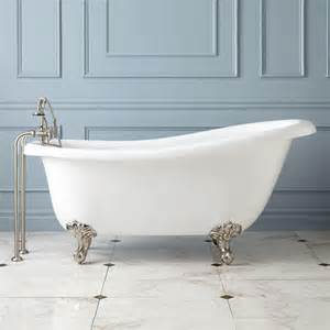 claw bathtubs 68 quot sophia acrylic slipper clawfoot tub imperial feet bathroom