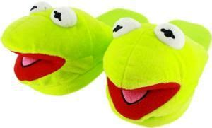kermit the frog slippers the muppets kermit the frog plush slippers slippers
