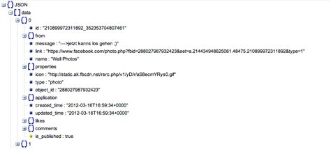tutorial javascript json javascript json structure facebook stack overflow