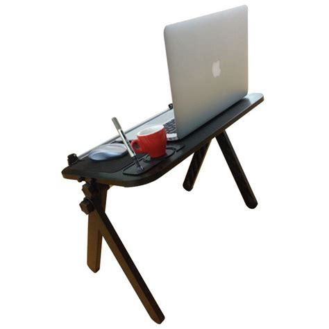 Laptop Desk With Mouse Pad Aluminum Laptop Table With Mouse Pad Cup And Pen Holder