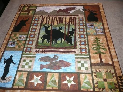 Wildlife Quilt patchwork quilts on wildlife quilts quilt