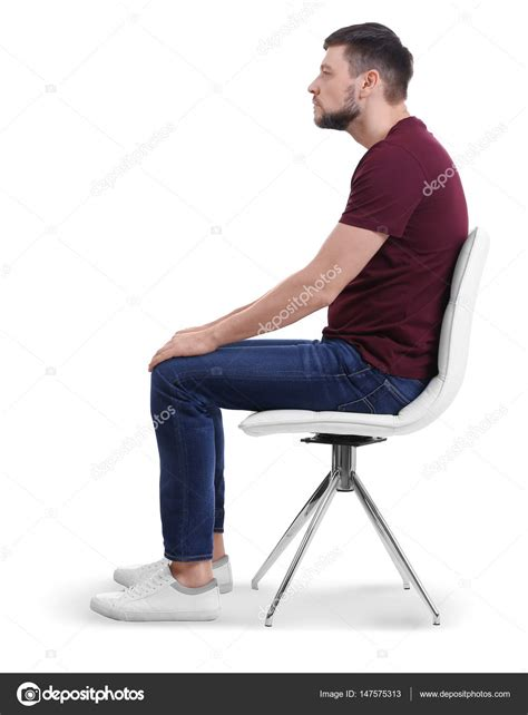 sitting on chairs sitting on chair stock photo 169 belchonock 147575313