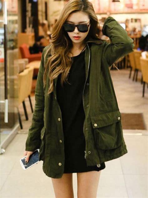 Jaket Parka Korean Style 6 gaya memakai jaket parka biar makin keren seperti cewek