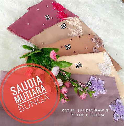 Jilbab Segiempat Mutiara segi empat saudia mutiara bunga 183 sentral grosir jilbab i
